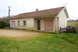 Annonce vente Maison avec garage chasseneuil-sur-bonnieure