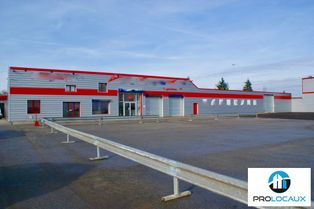 Annonce location Local commercial avec parking guichainville