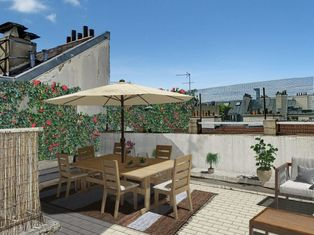 Annonce vente Appartement avec terrasse paris 1er arrondissement