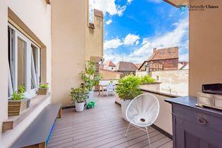 Annonce vente Appartement avec terrasse sélestat