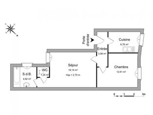 Annonce location Appartement lumineux charleville-mézières