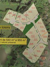 Annonce vente Terrain avec terrain constructible couzeix