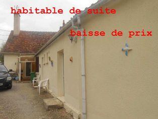 Annonce vente Maison avec garage Mézières-en-Brenne