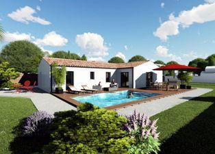 Annonce vente Maison avec terrain constructible burie