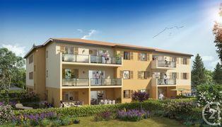 Annonce vente Appartement avec terrasse meximieux