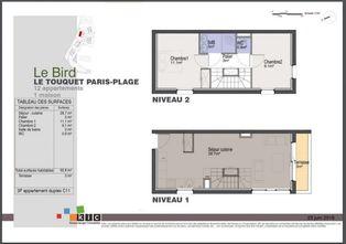 Annonce vente Appartement avec terrasse le touquet-paris-plage