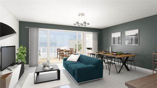 Annonce vente Appartement avec terrasse terville