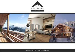 Annonce vente Appartement avec terrasse hauteluce