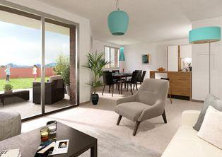 Annonce vente Appartement avec terrasse saint-martin-d'heres
