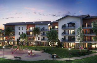 Annonce vente Appartement avec terrasse cessy