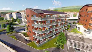 Annonce vente Appartement avec terrasse morteau