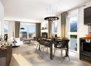 Annonce vente Appartement avec terrasse le pont de claix