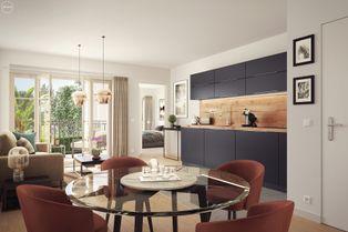 Annonce vente Appartement avec terrasse voisins-le-bretonneux