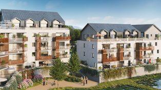 Annonce vente Appartement avec terrasse gresy-sur-aix