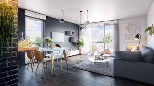 Annonce vente Appartement avec vue dégagée quetigny