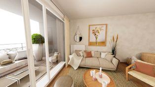 Annonce vente Appartement avec terrasse la-membrolle-sur-choisille