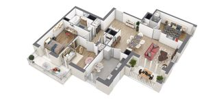 Annonce vente Appartement avec terrasse puteaux