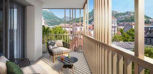 Annonce vente Appartement avec terrasse grenoble