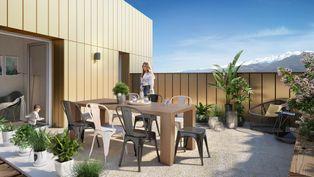 Annonce vente Appartement avec garage echirolles