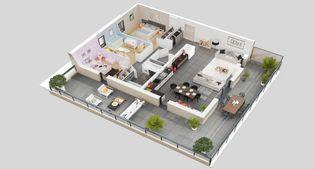 Annonce vente Appartement lumineux saint-pierre-en-faucigny