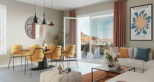 Annonce vente Appartement avec terrasse cognin