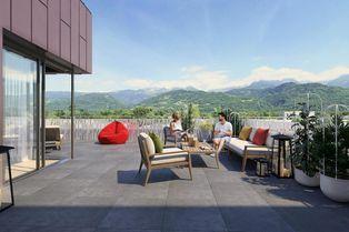 Annonce vente Appartement avec terrasse crolles