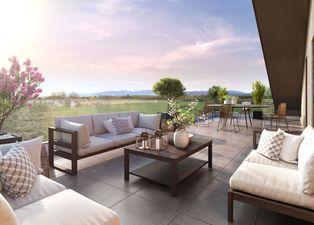Annonce vente Appartement avec terrasse messery