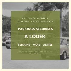 Annonce location Parking avec parking calvi