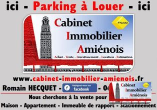 Annonce location Parking amiens