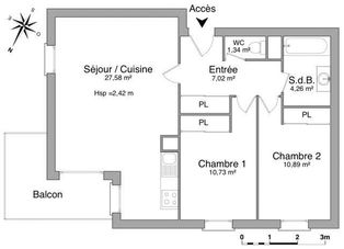 Annonce location Appartement avec parking bergerac