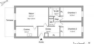 Annonce location Appartement avec terrasse bergerac