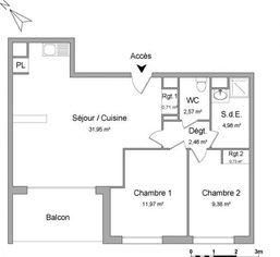 Annonce location Appartement avec parking bihorel