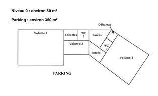 Annonce vente Bureau avec parking guéret