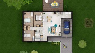 Annonce vente Maison avec garage saint-mars-d'outillé