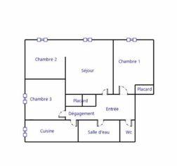 Annonce vente Appartement avec parking romilly-sur-seine
