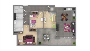 Annonce location Appartement avec cuisine ouverte villeneuve-lès-avignon