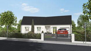 Annonce vente Maison avec garage la croix-en-touraine