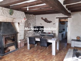 Annonce vente Maison avec garage aubigné-racan