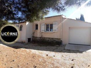 Annonce vente Maison avec garage le puy-sainte-réparade
