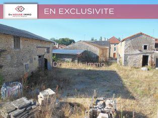 Annonce vente Maison avec terrain constructible vouillé
