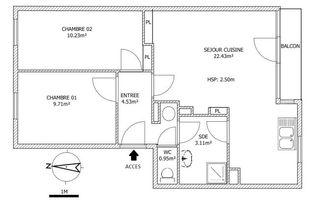 Annonce location Appartement avec parking wattignies