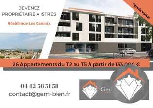 Annonce vente Appartement lumineux istres