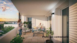 Annonce vente Appartement avec terrasse balma