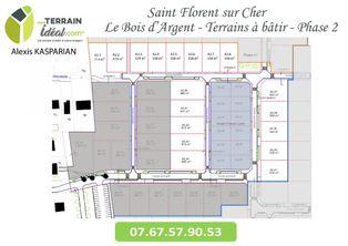 Annonce vente Terrain avec terrain constructible saint-florent-sur-cher