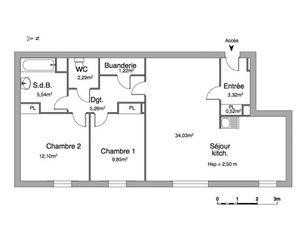 Annonce location Appartement le petit-quevilly