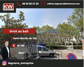 Annonce vente Local commercial saint-martin-du-var