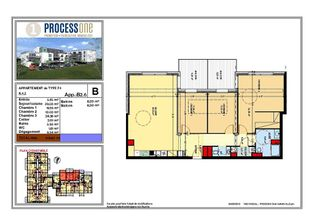 Annonce vente Appartement avec terrasse amnéville