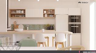 Annonce vente Appartement avec grange lyon 3eme arrondissement