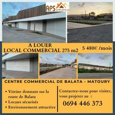 Annonce location Local commercial matoury