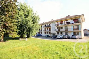 Annonce vente Appartement rumilly